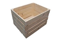 1 Stück NEUE natur Holzkiste-2