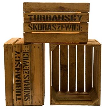 3er set massive Obstkiste - Holzkiste - Weinkiste aus dem Alten Land - Farben & Sets frei wählbar-4