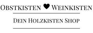 Logo Weinkisten & Obstkisten Shop